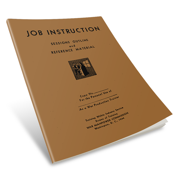 TWI Job Instruction Manual