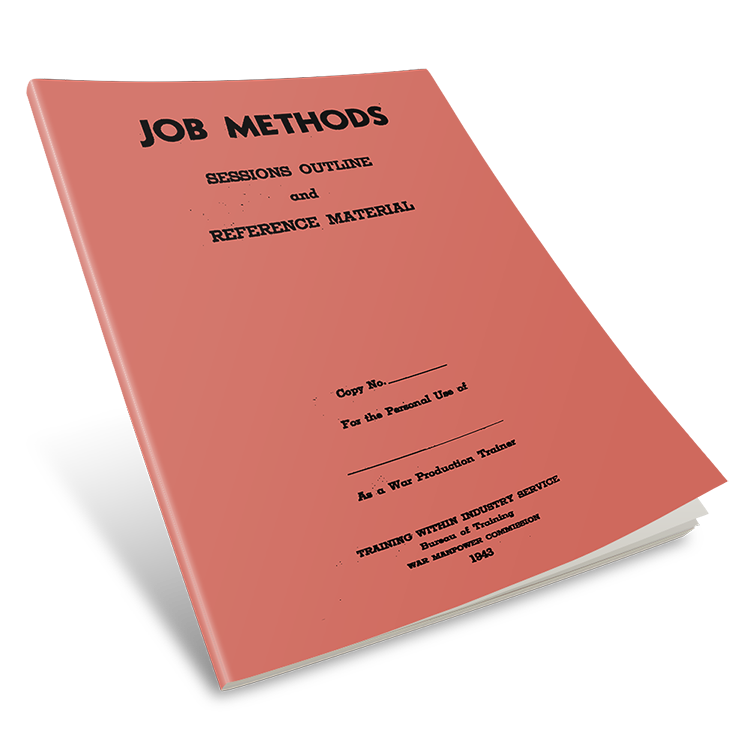 TWI Job Methods Manual