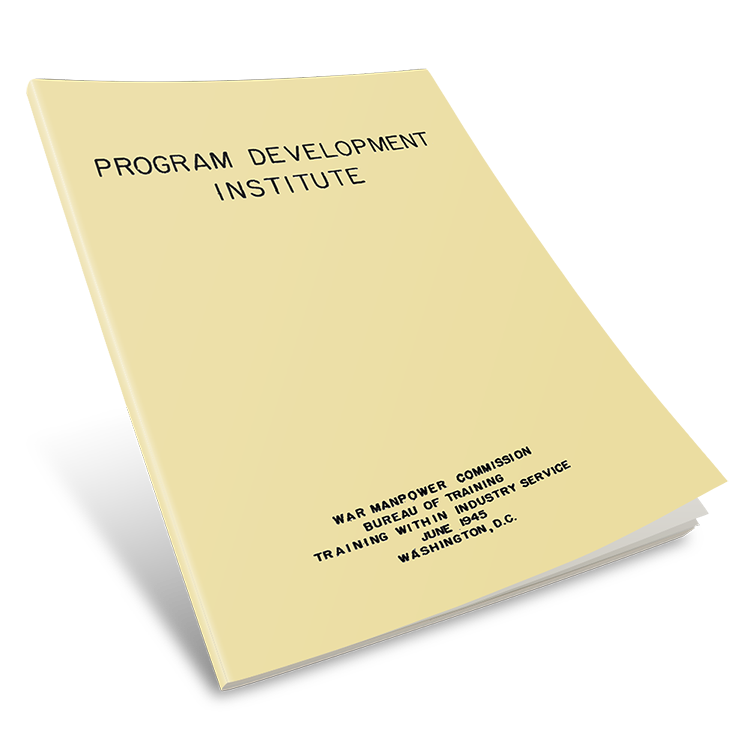TWI Program Development Manual