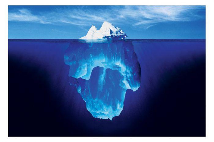 Góra lodowa austerki